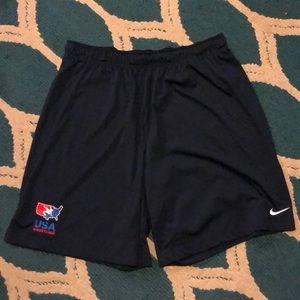 Nike USA Wrestling shorts